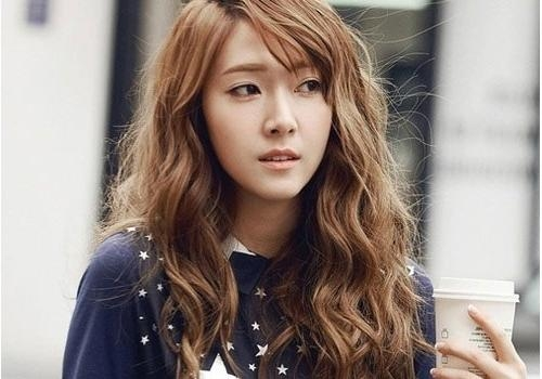 33 Trendy Korean Hairstyles For 2013 – Creativefan Inside Long Wavy Hairstyles Korean (View 5 of 15)