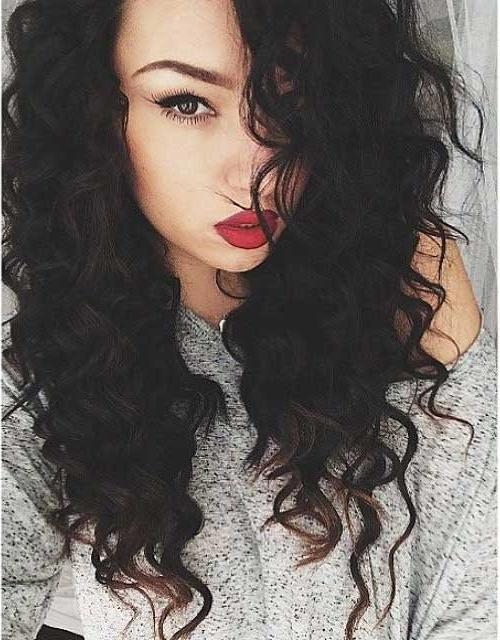 34 New Curly Perms For Hair | Hairstyles & Haircuts 2016 – 2017 For Long Permed Hair With Bangs (View 4 of 15)