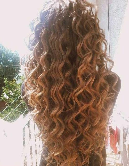 34 New Curly Perms For Hair | Hairstyles & Haircuts 2016 – 2017 Pertaining To Long Hairstyles Permed Hair (View 4 of 15)