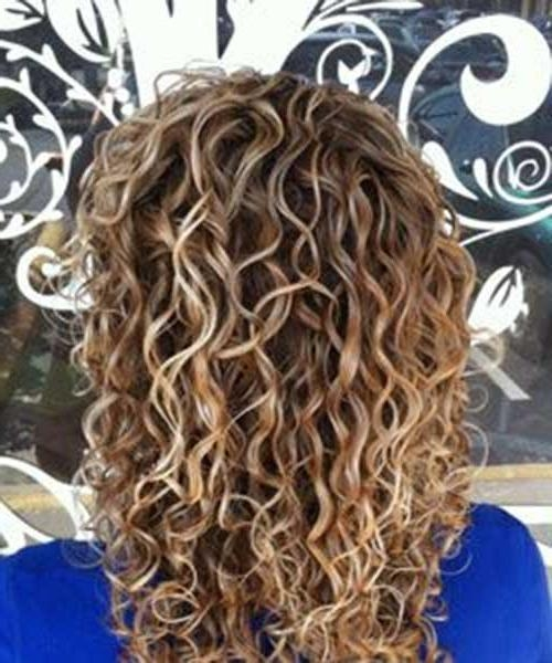 34 New Curly Perms For Hair | Hairstyles & Haircuts 2016 – 2017 Regarding Long Hairstyles Permed Hair (View 5 of 15)