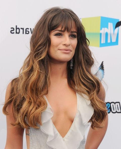 35 Long Hairstyles With Bangs – Best Celebrity Long Hair With In Long Hairstyles Bangs (View 6 of 15)