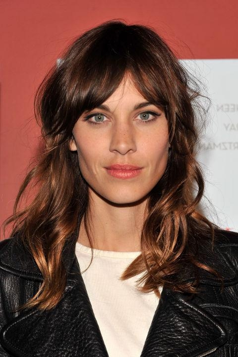 35 Long Hairstyles With Bangs – Best Celebrity Long Hair With Pertaining To Long Hairstyles Bangs (View 7 of 15)