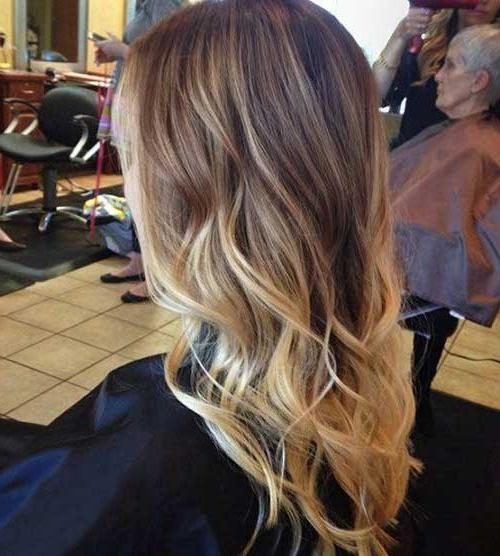 Photo Gallery of Long Hairstyles Ombre (Viewing 10 of 15 Photos)