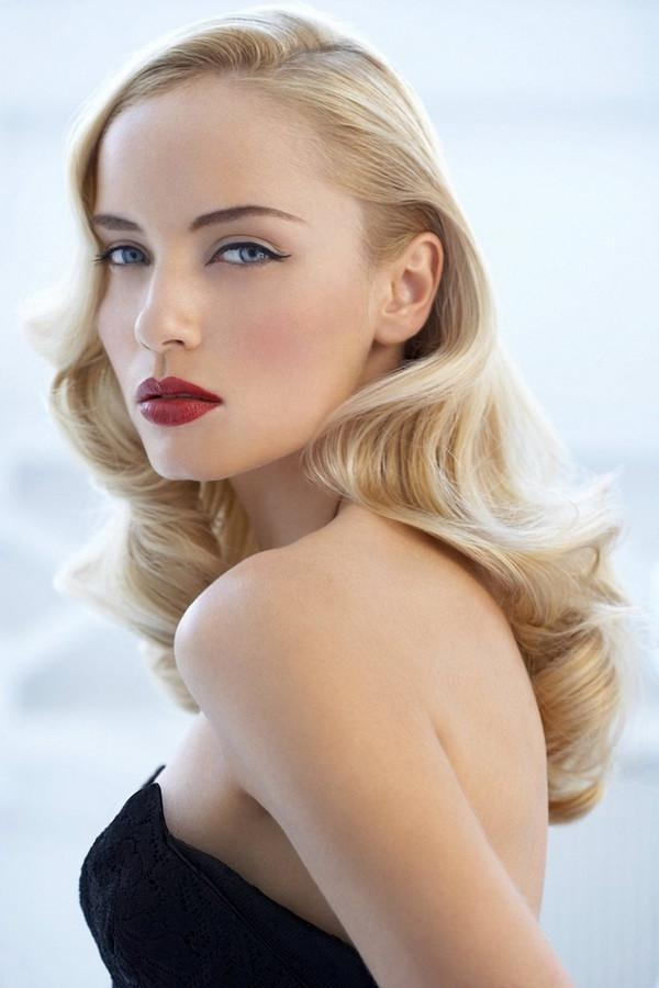 37 Stunning Easy Vintage Hairstyles – Beautified Designs Inside Long Hair Vintage Styles (View 9 of 15)
