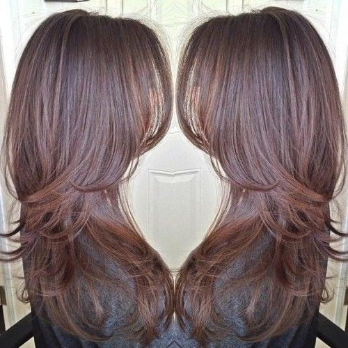 38 Hairstyles For Thin Hair To Add Volume And Texture  … Pertaining To Long Hairstyles With Lots Of Layers (View 2 of 15)