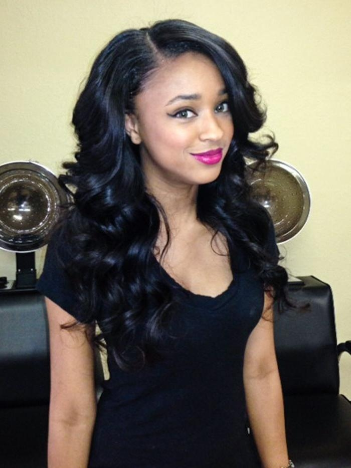 39 Best Beautiful Weave Hairstyles Images On Pinterest For Long Hairstyles Weave (View 6 of 15)