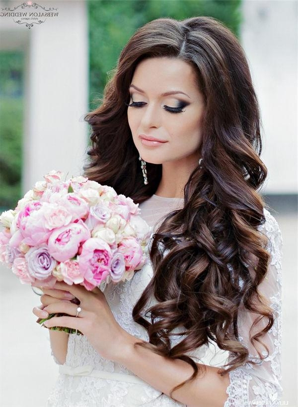 39 Best Wedding Hair Images On Pinterest | Hairstyles, Make Up And Regarding Wedding Long Hairdos (View 5 of 15)