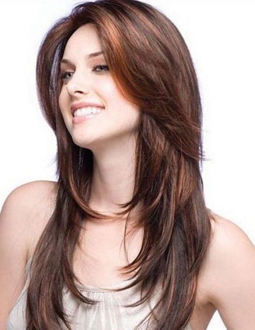 39 Long Hairstyles With Layers: Get The Celebrity Look In Minutes Regarding Long Hairstyles With Layers (View 11 of 15)
