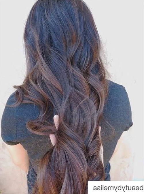 40 Balayage Hairstyles 2018 – Balayage Hair Color Ideas With For Long Hairstyles Balayage (View 12 of 15)