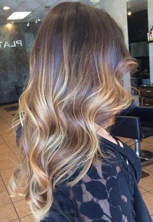 40 Balayage Hairstyles 2018 – Balayage Hair Color Ideas With Within Long Hairstyles Balayage (View 8 of 15)