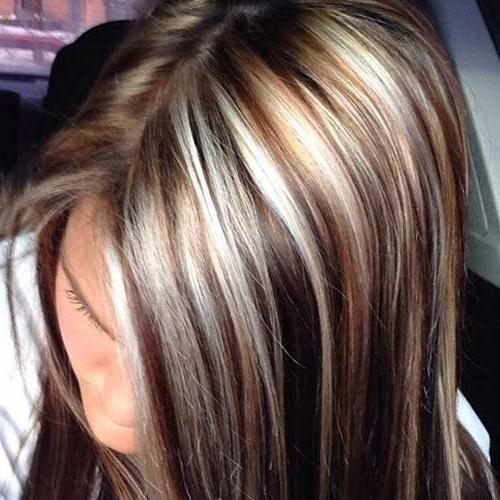 40 Blonde And Dark Brown Hair Color Ideas | Hairstyles & Haircuts Within Long Hairstyles Highlights And Lowlights (View 2 of 15)