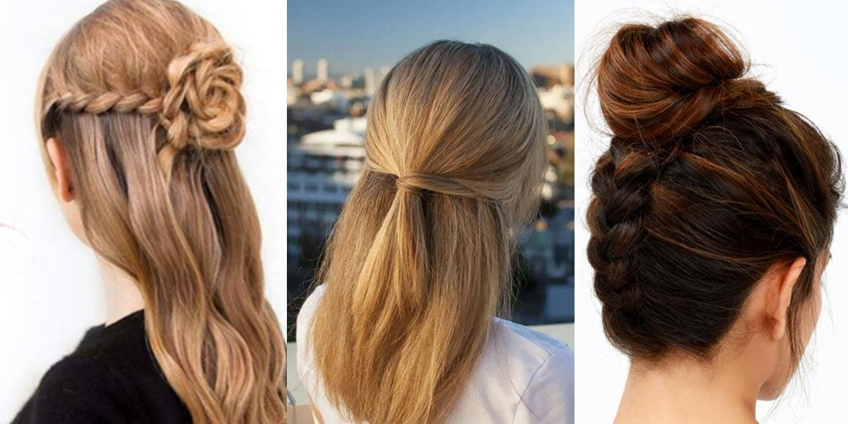 41 Diy Cool Easy Hairstyles That Real People Can Actually Do At In Long Hairstyles At Home (View 2 of 15)