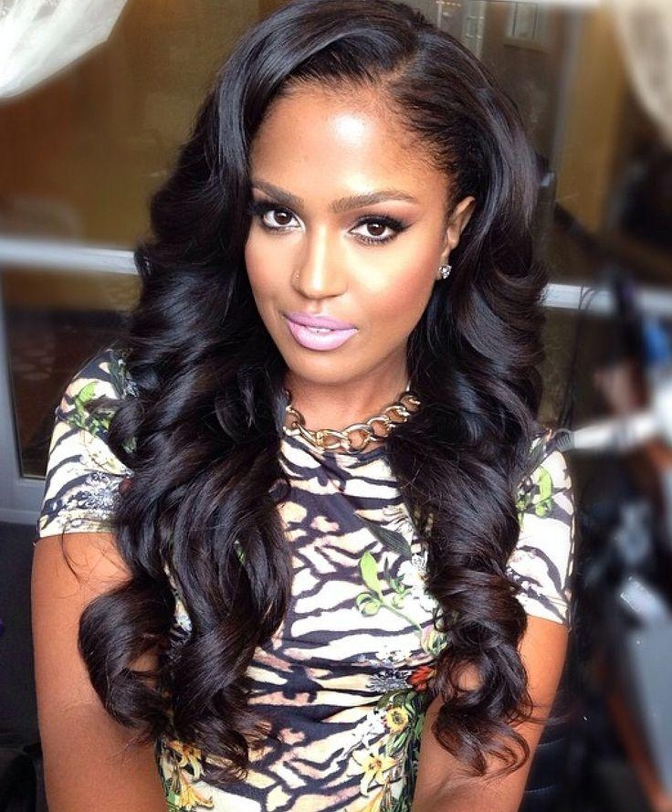 437 Best Sew In Hair Ideas Images On Pinterest | Hairstyles In Long Virgin Hairstyles (View 3 of 15)