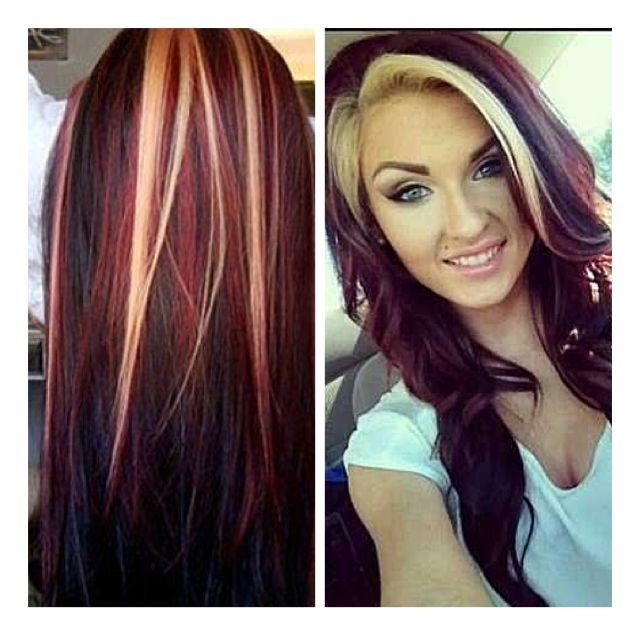 449 Best Hair Colors Images On Pinterest | Hair, Hairstyles And Inside Long Hairstyles With Color (View 3 of 15)
