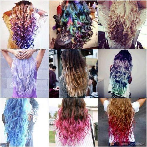 46 Best Hair Dye Images On Pinterest | Hairstyles, Braids And Make Up Throughout Long Hairstyles Dyed (View 3 of 15)