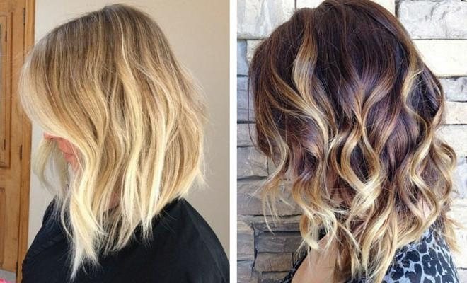47 Hot Long Bob Haircuts And Hair Color Ideas | Stayglam Throughout Long Hair Colors And Cuts (View 2 of 15)