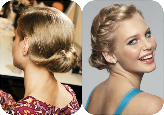 5 Inspired Updo Hair Styles 2014 With Remy Human Hair Extensions Inside Long Hairstyles Updos  (View 8 of 15)