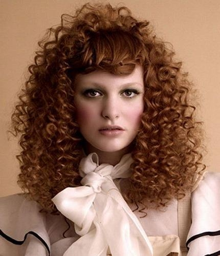 50 Amazing Permed Hairstyles For Women Who Love Curls With Regard To Long Permed Hair With Bangs (View 7 of 15)