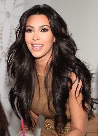 50 Best Kim Kardashian Hairstyles | Mobile App, Kim Kardashian For Long Hairstyles Kim Kardashian (View 1 of 15)
