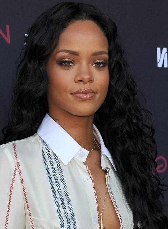 50 Best Rihanna Hairstyles Inside Long Hairstyles Rihanna (View 3 of 15)