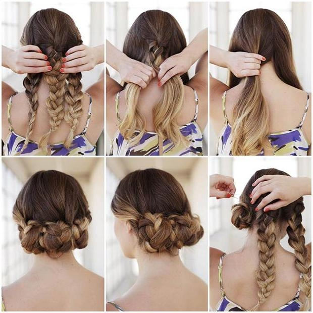Photo Gallery of Long Hairstyles Easy Updos (Viewing 6 of 15 Photos)