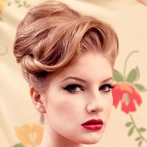 50 Graceful Updos For Long Hair | Hair Motive Hair Motive Throughout Vintage Updos For Long Hair (View 9 of 15)