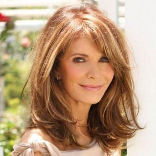 50 Phenomenal Hairstyles For Women Over 50 | Hair Motive Hair Motive With Long Hairstyles For Ladies Over (View 15 of 15)