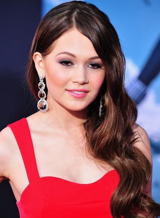 50 Red Carpet Hairstyles Pertaining To Long Hairstyles Red Carpet (View 4 of 15)
