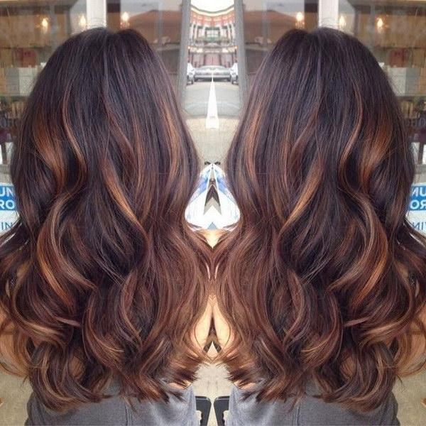 50 Stylish Highlighted Hairstyles For Black Hair 2017 Inside Highlights For Long Hair (View 10 of 15)