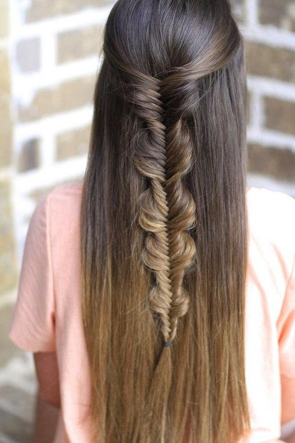 52 Best Straight Hairstyles Images On Pinterest | Hairstyle Ideas Regarding Long Hairstyles Down Straight (View 9 of 15)
