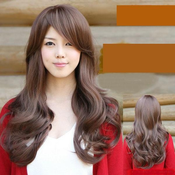 61 Best Curl Hair Images On Pinterest | Hairstyles, Korean With Long Wavy Hairstyles Korean (View 6 of 15)