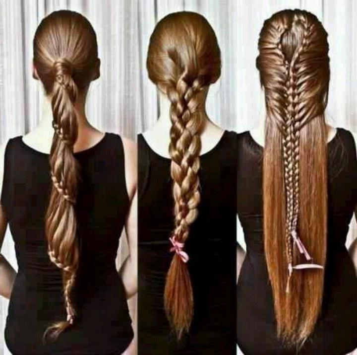 61 Best Sexy Hair Images On Pinterest | Braids, Hairstyles And Make Up Intended For Braids For Long Thick Hair (View 9 of 15)