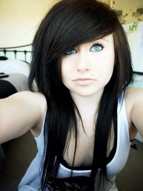 65 Emo Hairstyles For Girls: I Bet You Haven't Seen Before With Regard To Long Emo Hairstyles (View 2 of 15)