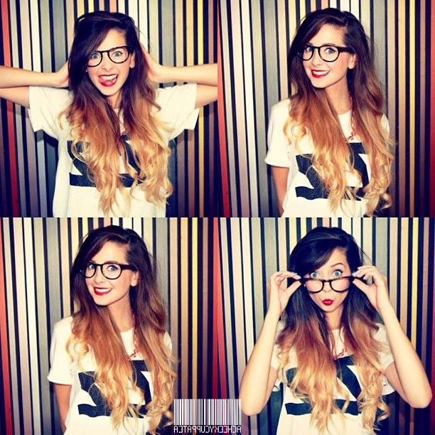68 Best Hair Images On Pinterest | Hairstyles, Ombre Hair And Inside Zoella Long Hairstyles (View 6 of 15)