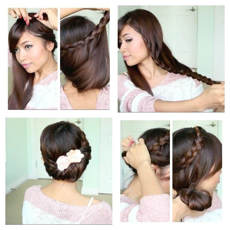 792 Best Hair Tutorials Images On Pinterest   Hairstyles, Beauty Within Long Hairstyles Diy (View 8 of 15)
