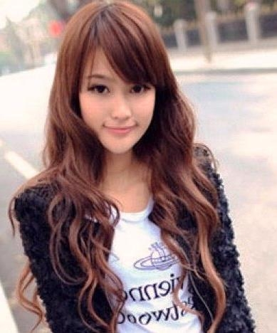 8 Best Hair Images On Pinterest | Hairstyles, Makeup And Hair Inside Long Hairstyles Korean Actress (View 4 of 15)