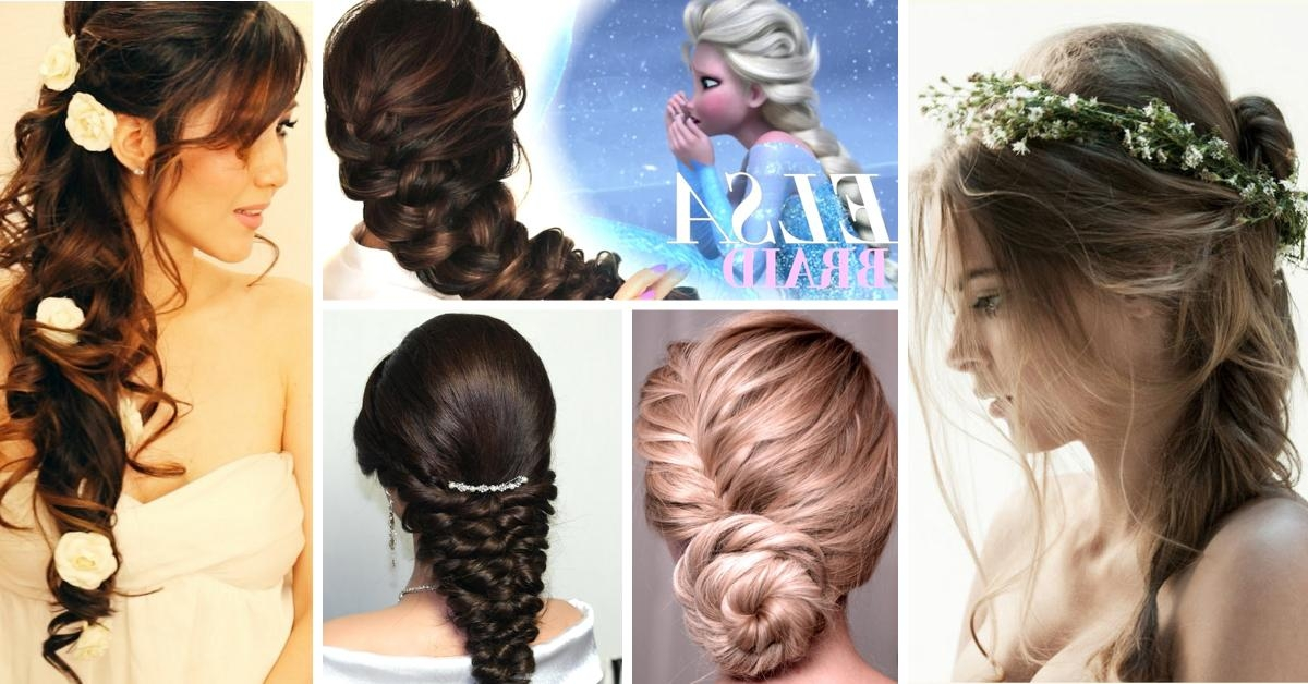 80+ Wedding Hairstyles For Long Hair That Will Make You Feel Like Inside Long Hairstyles At Home (View 4 of 15)