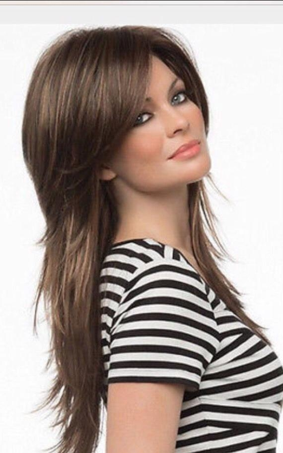 87 Best Haircuts Images On Pinterest | Hairstyle, Hair And Short Hair Regarding Hairstyles Long Shaggy Layers (View 8 of 15)