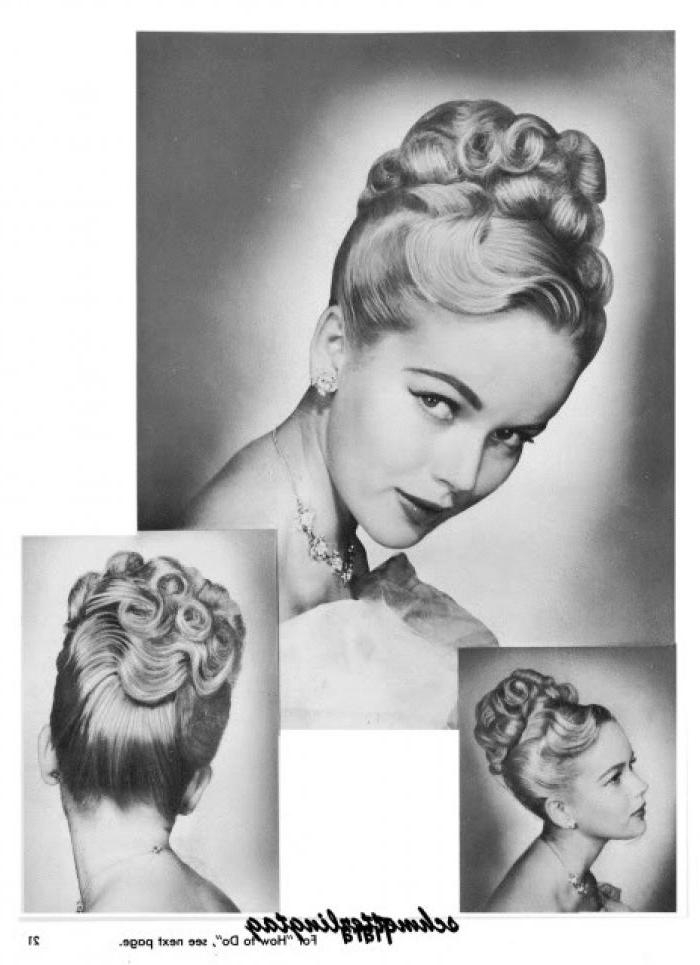 89 Best 1950's Hairstyles Images On Pinterest | Hairstyles Within Long Hairstyles In The 1950s (View 7 of 15)