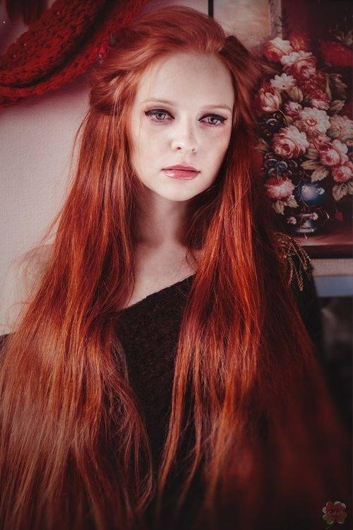 94 Best For Redheads – Long Hair Images On Pinterest | Red Heads With Regard To Long Hairstyles Redheads (View 5 of 15)