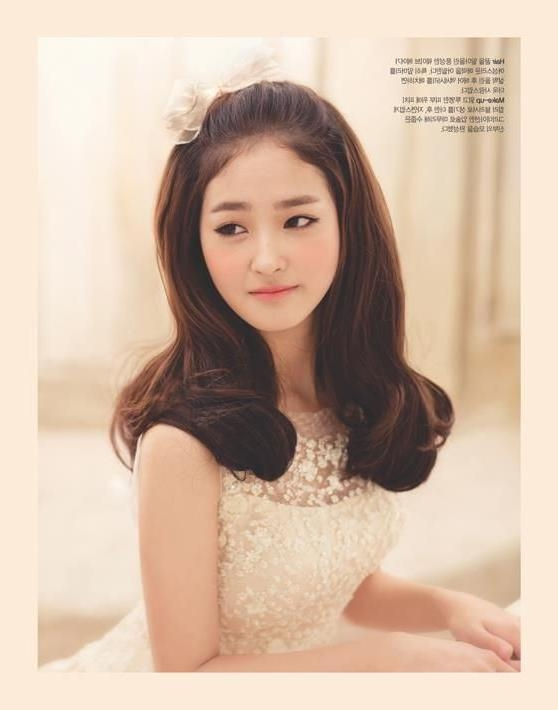94 Best Korean Hair Images On Pinterest | Korean Hairstyles Intended For Long Hairstyles Korean Actress (View 9 of 15)