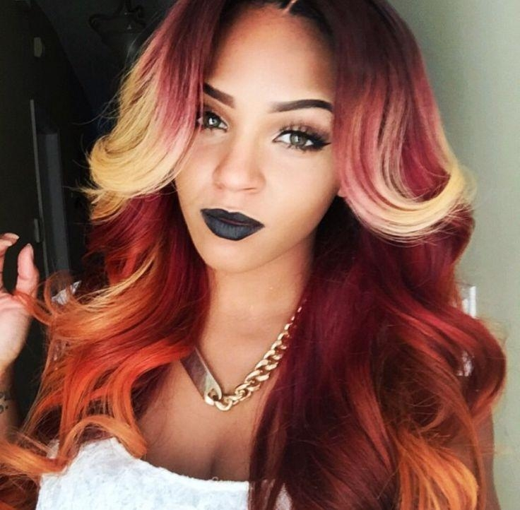 94 Best My Sew In Styles 2016 2017 Images On Pinterest | Natural Inside Long Hairstyles For Black Women (View 9 of 15)