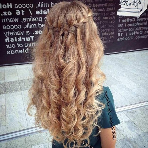 Awesome Prom Hairstyles Down Pictures – Unique Wedding Hairstyles With Regard To Long Hairstyles Down For Prom (View 2 of 15)