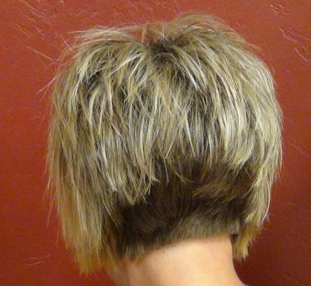 Back View Of Short Haircuts | Short Hairstyles 2016 – 2017 | Most In Hairstyles Long Front Short Back (View 4 of 15)