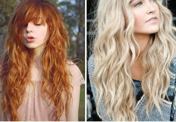 Beach Wave Long Hairstyles – Popular Long Hair 2017 Inside Long Hairstyles Beach Waves (View 4 of 15)