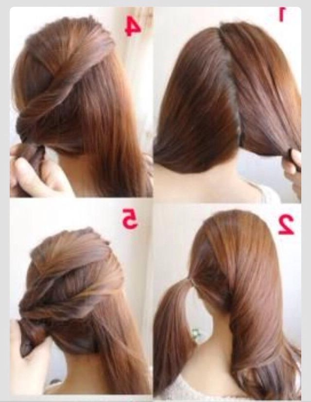 Beautiful Easy Hairstyle For Work Pictures – Unique Wedding In Quick Long Hairstyles For Work (View 5 of 15)