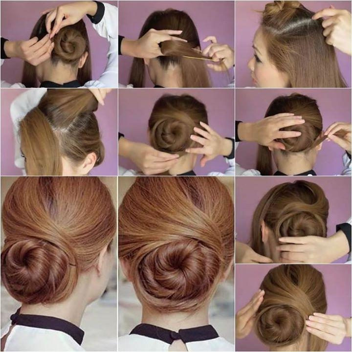 Beautiful Hairstyle At Home Contemporary – Best Hairstyles In 2017 Within Long Hairstyles At Home (View 5 of 15)