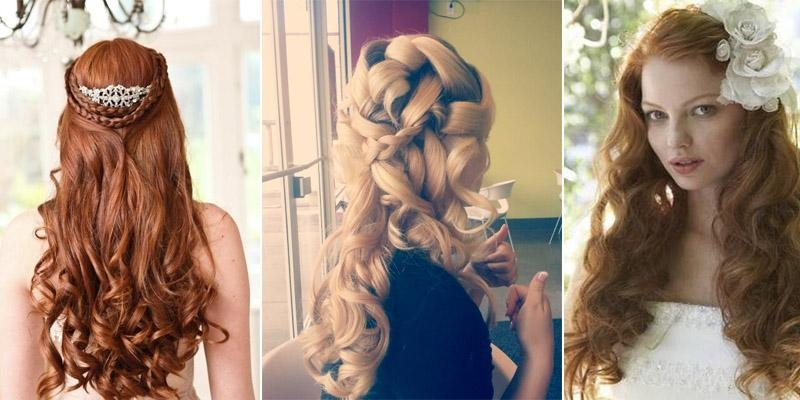 Beautiful Long Hair Wedding Styles Down Dos Pictures – Unique With Long Hairstyles Dos (View 7 of 15)