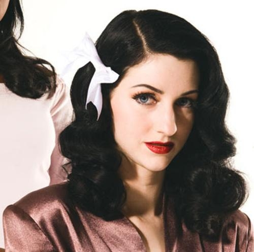 Beautiful Vintage Hairstyles For Long Hair – New Hairstyles Regarding Vintage Haircuts For Long Hair (View 5 of 15)