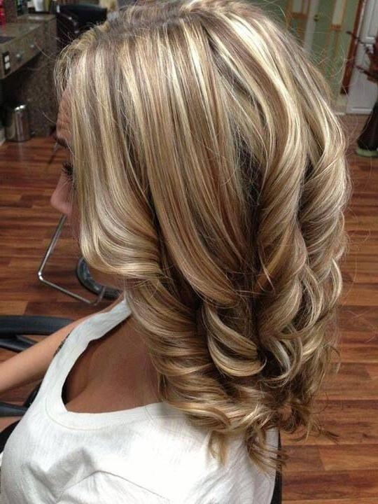 Best 10+ All Over Highlights Ideas On Pinterest | Fall Hair Colors With Long Hairstyles Highlights And Lowlights (View 4 of 15)